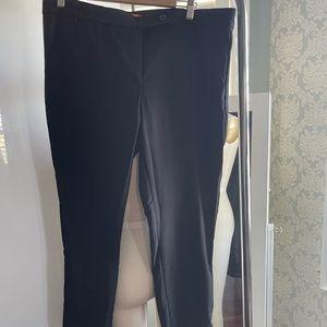 Joe Fresh Black Dress Pants size 14